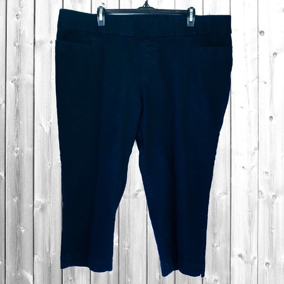 a3e55f8540a Lee Pants - Lee Style Up Stretch Capri Pull On Jeans Plus 24